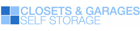 Closets & Garages Self Storage logo
